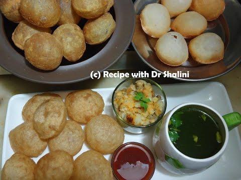 GOLGAPPA RECIPE | 3-Style of Golgappa | Pani Puri Recipe | Golgappa | Golgappa for Panipuri
