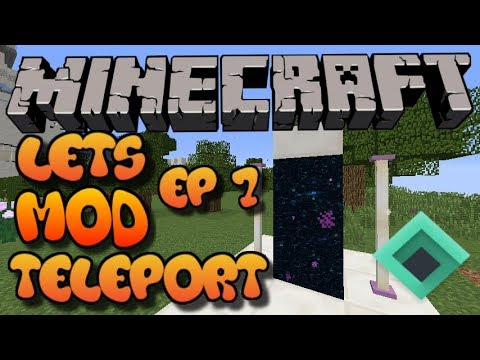 Let's Mod Minecraft EP7: TELEPORT (NBT Tutorial) XBOX 360/One/PS3/PS4/WII U/PE/PC