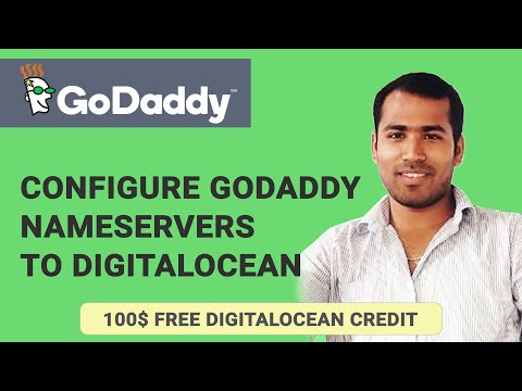Setup DNS from godaddy with DigitalOcean Host - Custom Domain Name setup VPS
