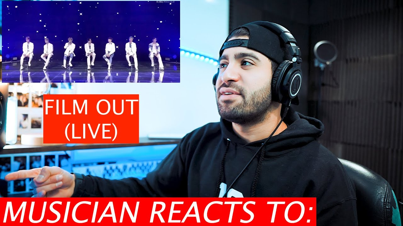 Jacob Restituto Reacts To BTS Film Out (Live)