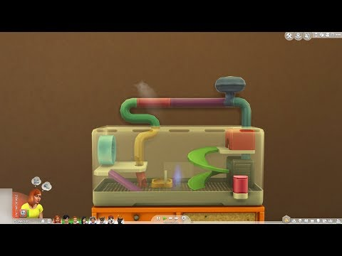 The Sims 4 My First Pet Stuff: Rodent Death
