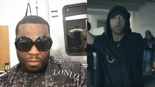 50 Cent Reacts To Eminem Freestyle at BET Awards