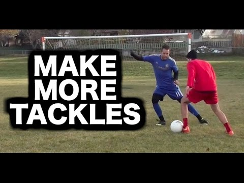 How to tackle in soccer | How do a tackle in football | How to defend in football soccer