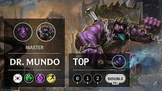 Download Dr. Mundo Top vs Jax - KR Master Patch 9.13 Video
