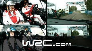 Onboard Latvala vs Loeb