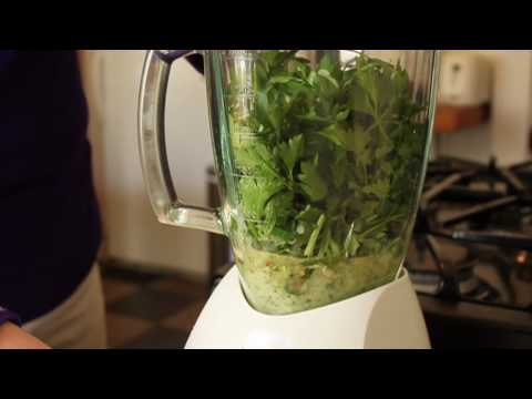 Food Wishes Recipes - Chimichurri Sauce Recipe - How to Make Chimichurri