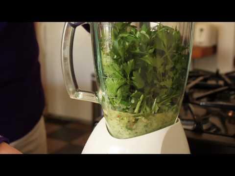 Food Wishes Recipes - Chimichurri Sauce Recipe - How to Make Chimichurri