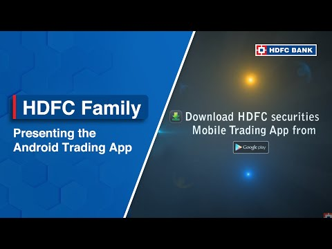 HDFC securities Android Trading App