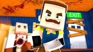Hello Neighbor - THE NEIGHBORS BABY! Season Two   Minecraft Roleplay