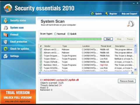 Watch Out! Security Essentials 2010 Attacking!