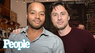 Scrubs: Zach Braff On Famous Bromance With Former Co-Star Donald Faison | People NOW | People