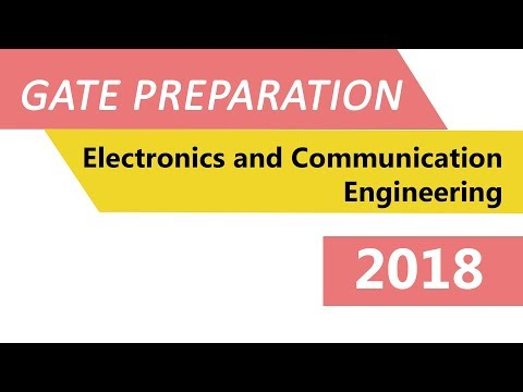Communication Systems-2 : GATE ELECTRONICS AND COMMUNICATION ENGINEERING 2018
