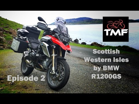 Touring the Scottish Western Isles by BMW R1200GS | Episode 2 | The Isle of Mull