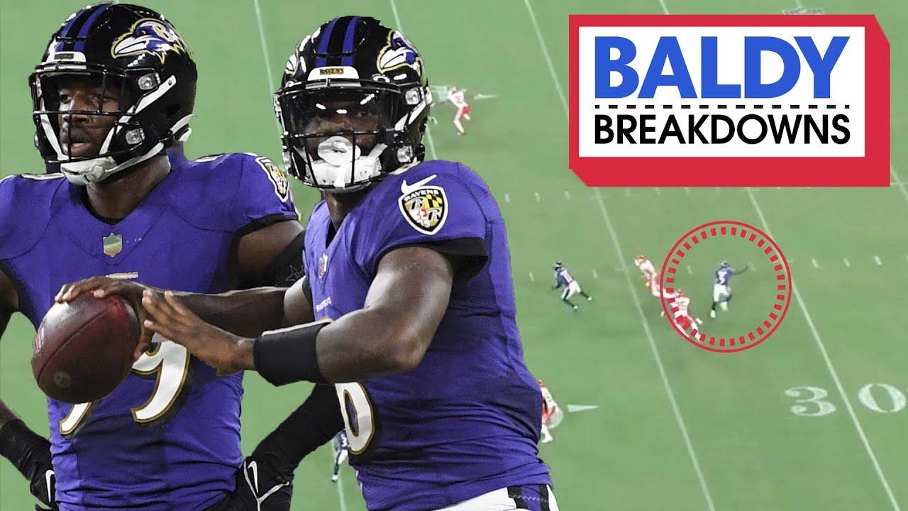 Breaking Down Lamar Jackson & the Ravens Spectacular Win Against the Chiefs   Baldy Breakdowns