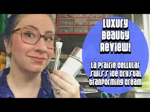 Beauty Review :: Luxury Product La Prairie Cellular Swiss Ice Crystal Transforming Cream
