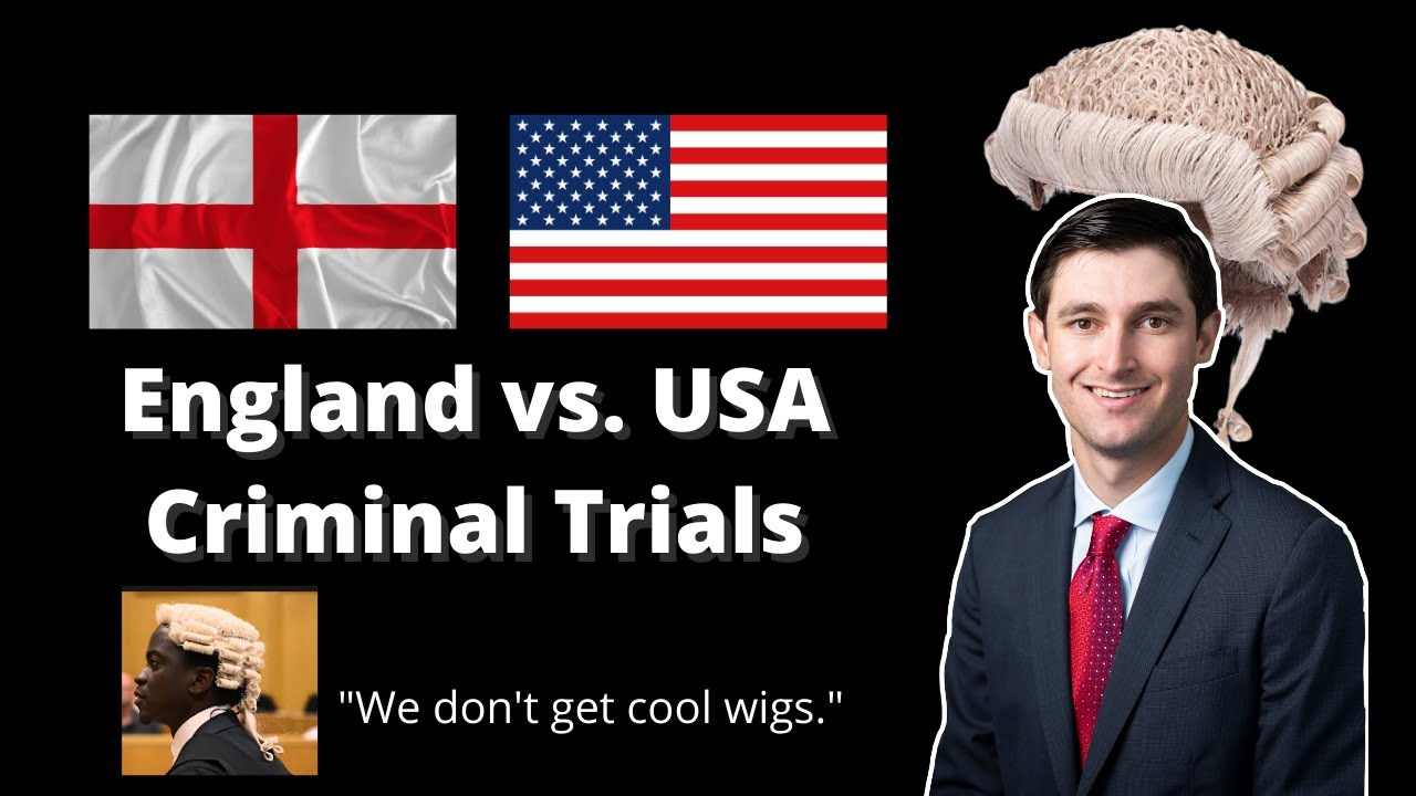 Lawyer Reacts: Criminal Trials in England vs USA