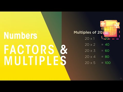 Factors and Multiples | Number | Maths | FuseSchool