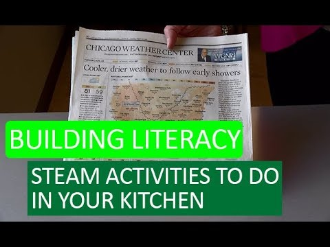 Building Literacy with STEAM Activities in Your Kitchen