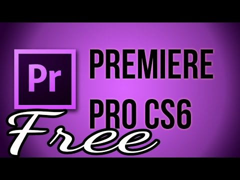 How to Download Adobe Premiere Pro CS6 | Trial Version | Windows 7/8/10