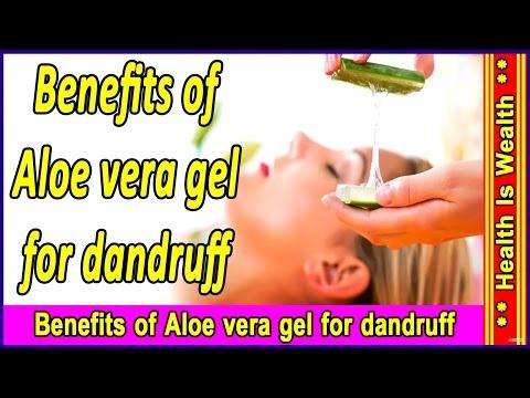 एलोवेरा के चमत्कारी लाभ - Benefits of Aloe vera gel for dandruff