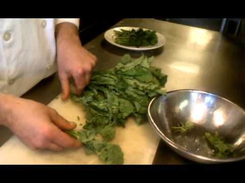 How to Prepare Broccoli Rabe