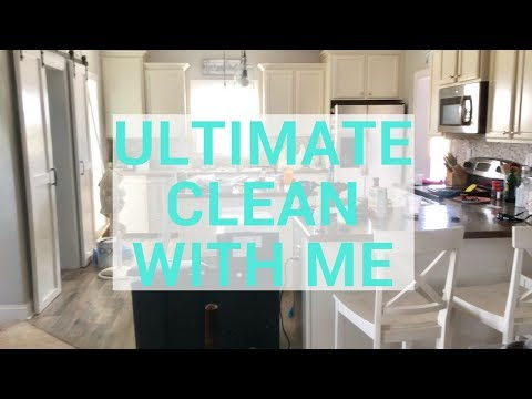 ULTIMATE Clean With Me | Cleaning Motivation | Cleaning Routine