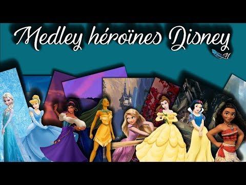 [French] Medley héroïnes Disney - 1000 abonnés - Manon ✽