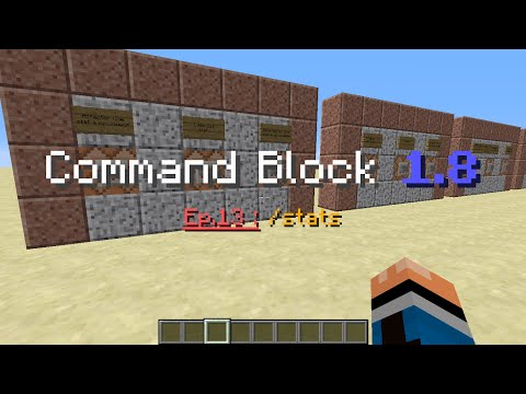 Guide Command Block 1.8 fr - Ep.13 /Stats (French)