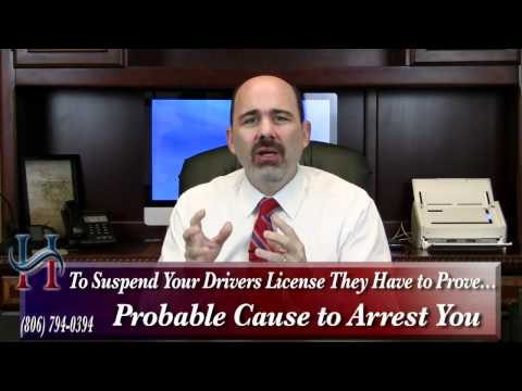 What Happens at My Drivers' License Hearing? Texas DWI Attorney Stephen Hamilton Explains