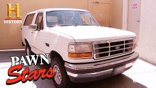 Pawn Stars: O.J. Simpson Getaway Bronco (Season 14)   History