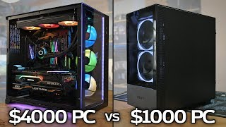 $4000 PC vs $1000 PC: Is the Extra Power Worth the Money?