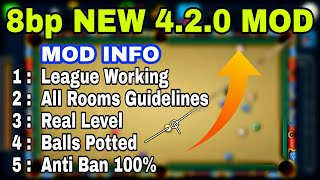 8 Ball Pool-New Mod Long Line+255 level+All Rooms Guideline+