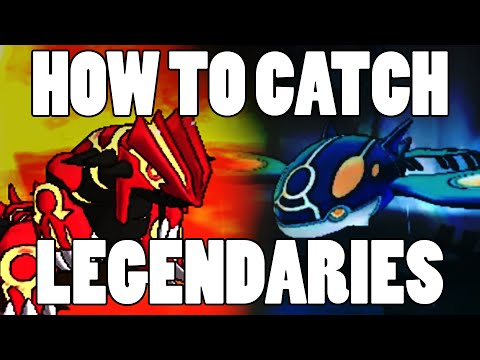Easiest way to catch Legendary Pokemon - TM 54 (False Swipe) Location Omega Ruby Alpha Sapphire