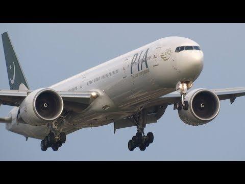 +40 BIG Aircraft Landing London Heathrow Airport (Incl. Go Arround!)