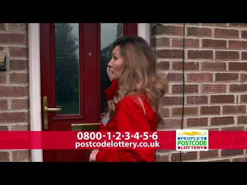 Someone's knockin' at the door - People's Postcode Lottery