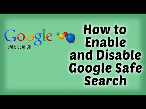 How to Enable and Disable Google Safe Search - Hindi Video | Google Tips & Tricks in Hindi