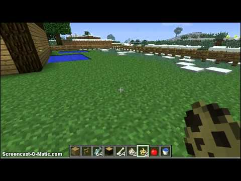 Minecraft - How To Tame Wolves and Ocelots