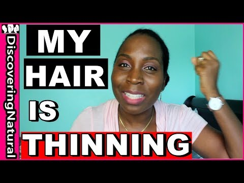 5 Reasons Why Your Hair is Thinning | Natural Hair