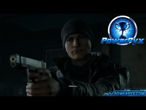 Detroit Become Human - COMPLIANT Trophy Guide (Connor Stayed a Machine)