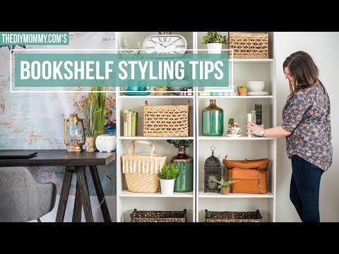 How to Style a Bookshelf | 5 Easy Steps!