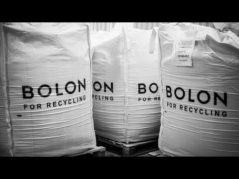 Bolon has its own in-house recycling facility to