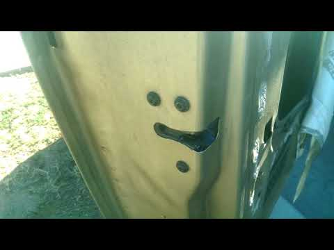 How to Remove Door Latch Assembly: 1999 Ford Ranger