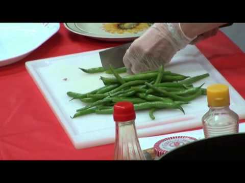 How to Cook - King Oyster Mushroom with String Bean