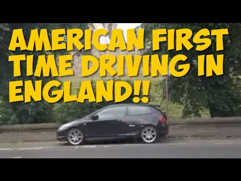 American Driving in England for First Time - Driving in the UK