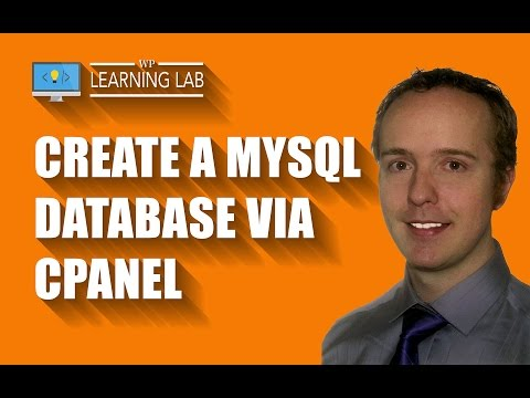 Create a MySQL Database for your WordPress Site via cPanel | WP Learning Lab
