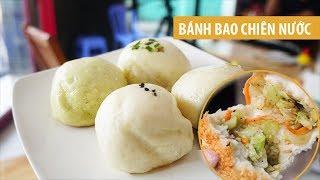 Bánh bao chiên nước cực hot ở Sài Gòn