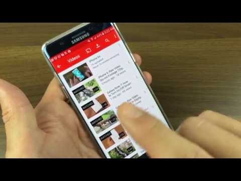 Galaxy Note 7: How to Upload Videos Directly to YouTube