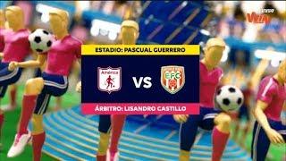 America vs Envigado (Resumen y mejores momentos) Liga Aguila 2019-II | Fecha 8