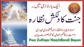 Jannat ka Nazara By Peer Zulfiqar Naqshbandi | Jannat ka Manzar | Khubsurat Bayan