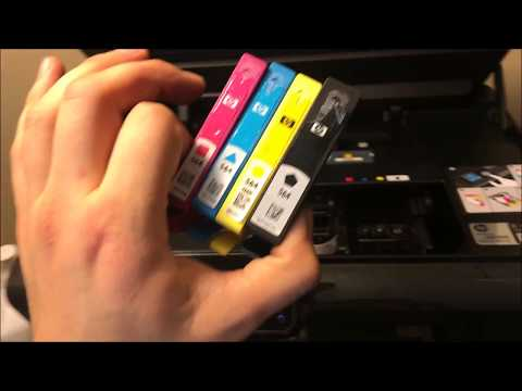 Hp Photosmart 5510 HOW TO CLEAN PRINTHEAD